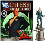 DC Chess Figurine Collection #38 Lex Luthor Black King Justice League Eaglemoss